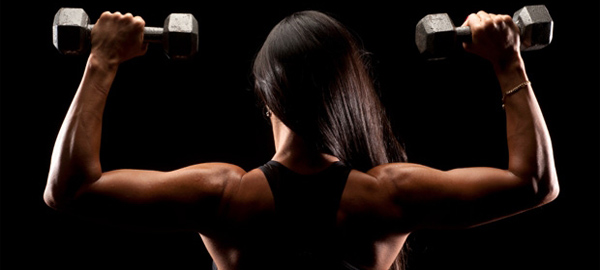Ladies Won't Bulk Up When Weight-Lifting