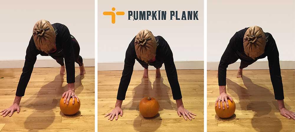 MoreFit Halloween Workout - Pumpkin Plank