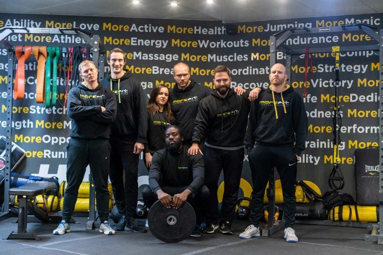 MoreFit - About | Photograph of MoreFit Team